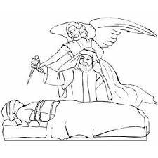 angel abraham coloring