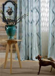 fashion design modern transparent tulle sheer curtains for window