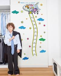 height chart wall stickers for kids boys room wall decals height chart wall stickers for kids