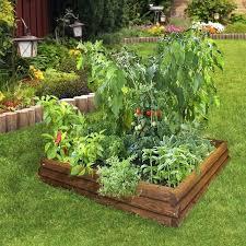 raised bed vegetable garden traditional landscape parterre