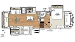 Open Range Fifth Wheel Floor Plans by 2017 Forest River Sandpiper 377flik Model Sandpiper Rv Floor Plans