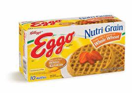 Eggo Toaster Waffles Kellogg U0027s Eggo Nutri Grain Whole Wheat Waffles 10ct Hy Vee
