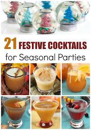 21 festive cocktails for seasonal