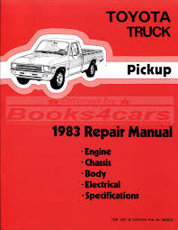 classic toyota truck toyota truck manuals at books4cars com