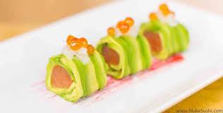 salmon avocado roll recipe