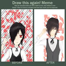 Draw This Again Meme Blank - ran0chi just a simple blog for my art interest x3