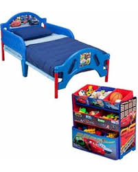 Toddler Beds On Sale Christmas Savings On Disney Cars Toddler Bed And Multi Bin