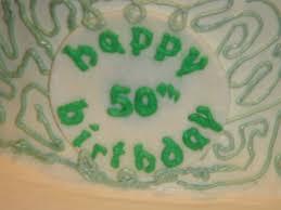 confectionary bliss three tiered irish themed 50th birthday cake