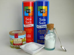 what s the difference between table salt and sea salt waffle hearts table salt kosher salt and sea salt what s the