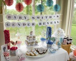 gender reveal party supplies gender reveal party theme released by big dot of happiness llc