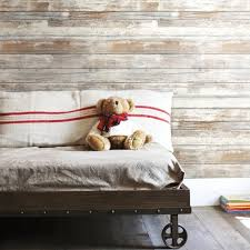discount wallcovering peel u0026 stick distressed wood wallpaper psd050