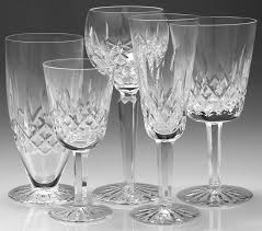 Antique Glassware Identification Early Cut Glass Marks Waterford Crystal History At Replacements