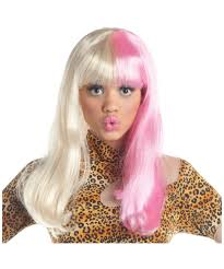 two tone diva wig halloween diva costumes
