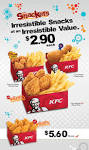 KFC Snackers @ Singapore while stocks last | Great Deals in ...