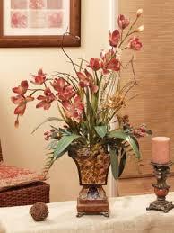flower arrangements for home decor rust tan silk orchid flower design ar130 59 silk orchids rust