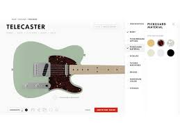 You Can Now Build the Fender of Your Dreams With Just a Few Clicks     Gallery Image
