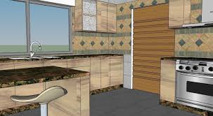 kitchen design 3d 3d formica kitchen design with natural granite cgtrader