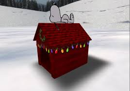 snoopy doghouse christmas decoration second marketplace snoopy christmas dog house from