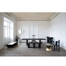 Floor Dining Table Gold Beam Dining Table Rooms The Future Perfect