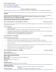 Bank Reconciliation Resume Sample by Resume Bank Reconciliation Resume