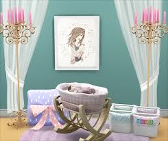 Baby Cribs That Convert To Beds by Lana Cc Finds Baby Crib Ts4 Room Sets Nursery Pinterest