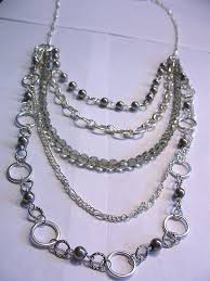 diy necklace chains images How to make a fashion necklace using chain my girlish whims JPG