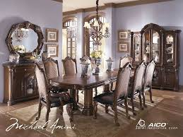 Formal Dining Room Tables Buy Monte Carlo Ii Dining Room Set In Cafe Noir Finish By Aico
