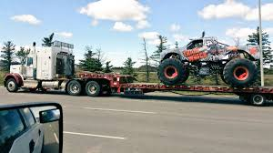 monster truck show edmonton train wreck real trainwreck twitter
