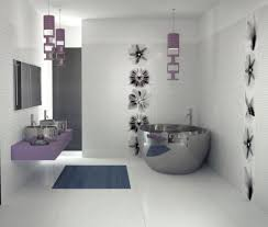 decorating ideas for bathroom walls fascinating white interior decoration of modern bathroom style