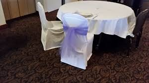 white chair covers ivory vs white linens and chair covers lots of pics weddingbee