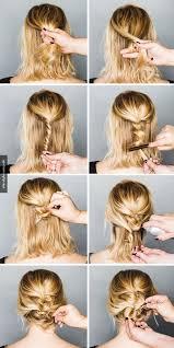 Hochsteckfrisuren Einfach Mittellang by Hochsteckfrisuren Einfach Kurze Haare