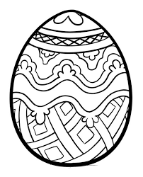russian easter egg coloring pages russian easter egg pattern
