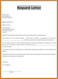 format of request letter to company request letter format bunch ideas of how to write a formal request