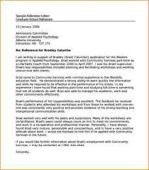 3 sample character reference letter academic resume template