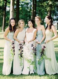 green bridesmaid dresses 35 ideas for mix and match bridesmaid dresses