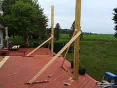 How To Build Your Own Pergola by Diy Pergola Tutorial How To Build Your Own Backyard Shade Diy