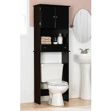 space saving bathroom ideas space saver the toilet cabinet espresso for the home