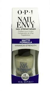 nicole by opi matte nail envy nail strengthener t32 0 5 fl oz