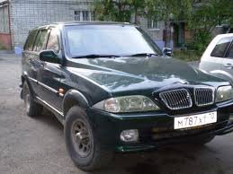 1998 ssang yong musso photos 2300cc gasoline manual for sale