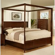 online bed shopping powell passages canopy bed cane overstock com shopping the