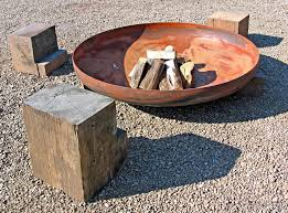 How To Make A Table Fire Pit - best 25 steel fire pit ideas on pinterest copper fire pit