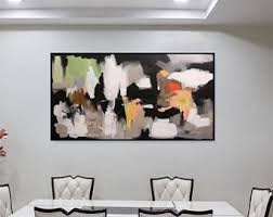 large abstract art etsy