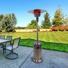 Patio Heater Propane Dyna Glo Deluxe Stainless Steel Patio Heater Propane 41 000 Btu