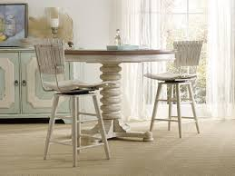 Paula Deen Dining Room Table by Casual Cottage Coastal 3 Piece Pub Table Set With Spool Pedestal