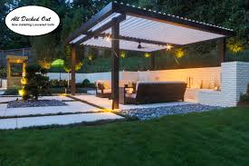 Louvered Roof Pergola by Roofs Pergola U0027s All Decked Out