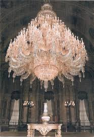 Pink Chandelier Burleson Dolmabahce Palace In Istanbul Turkey Photos History And Guide