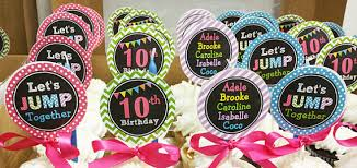 personalized cupcake toppers jump personalized cupcake toppers printable or assembled