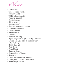 College Packing Checklist Packing For College What You U0027ll Really Need In The Dorms