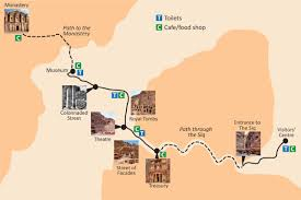 Map A Walking Route by Visiting Petra Jordan U2013 Map Things To See Planning Tips