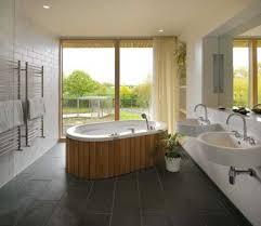 design perfect japanese bathroom design with black floor tiles